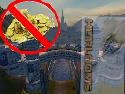 world of warcraft-easy heirlooms for new players no gold included!