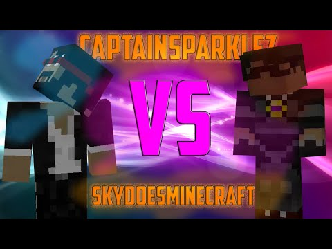 ★CaptainSparklez vs SkyDoesMinecraft - Minecraft