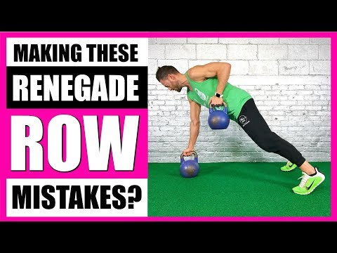 HOW TO RENEGADE ROW | Renegade Rows With Kettlebells & Dumbbells - LIVE!