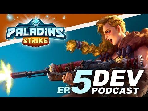 Paladins Strike: Dev Chat Episode 5