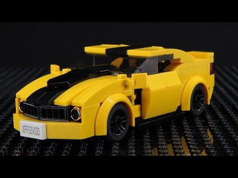 Lego Chevrolet Camaro MOC