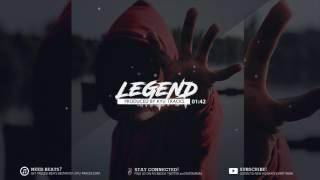 Angry Trap Instrumental | Aggressive Rap Trap Beat (prod  Luxray