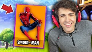 Download EL PERSONAJE SECRETO !! ** DESBLOQUEE A SPIDERMAN ** - FORTNITE MOMENTOS GRACIOSOS Video