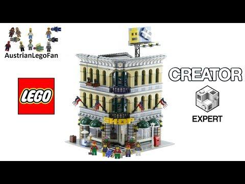 Lego Creator 10211 Grand Emporium - Lego Speed Build Review