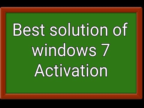 windows 7 (seven) ultimate activation lifetime for free l how to activate win 7 l win 7 product key