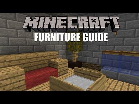 Minecraft Furniture Guide!