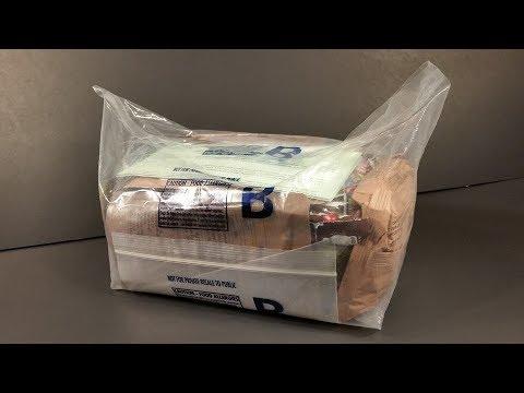 2018 Australian Patrol Ration 1 Man 24 Hour MRE Review PR1M Meal Ready to Eat Taste Test