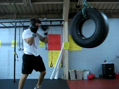 Tire Boxing (no need for heavybag)