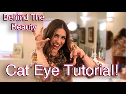 Behind the Beauty: How to Create the Perfect Cat Eye Makeup Look