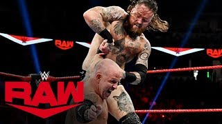 Aleister Black vs. Eric Young: Raw, Oct. 14, 2019