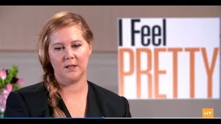 Amy Schumer on people who call her fat and joining Jennifer Lawrence fighting for equality