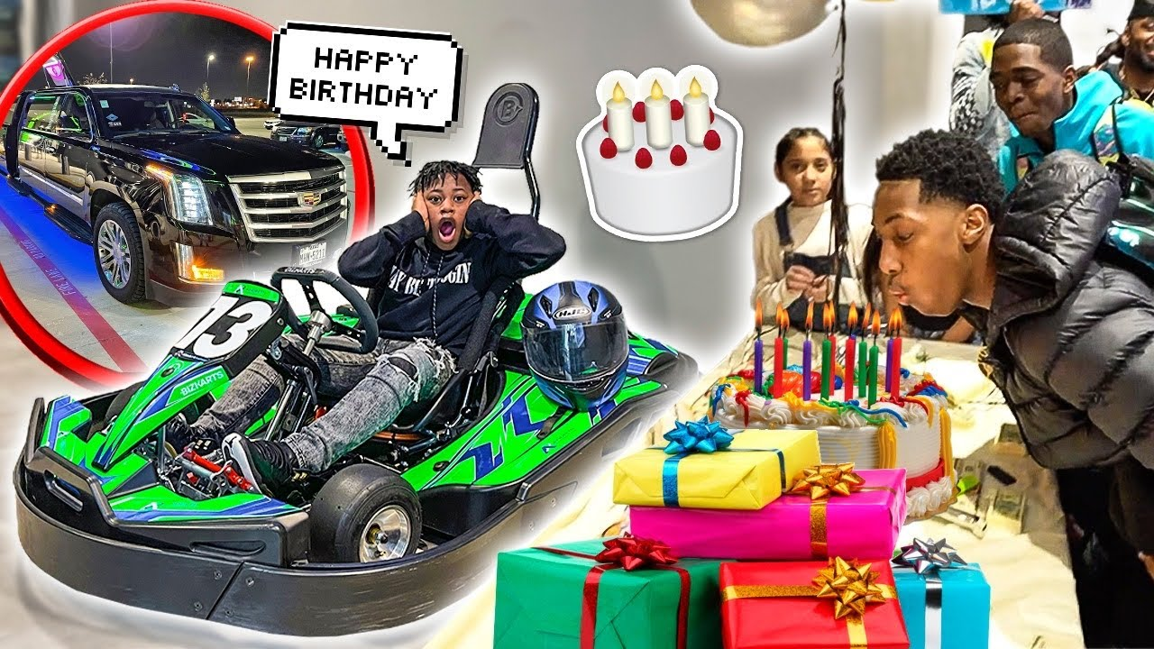 JAY HAD THE BEST 16TH BIRTHDAY PARTY EVER!!