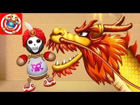 DRAGON - CHINA TOWN STUFF! | Kick the Buddy #4
