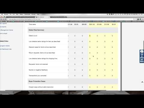 ebay Seller Performance Standards - How to Stay in Good Standing with ebay