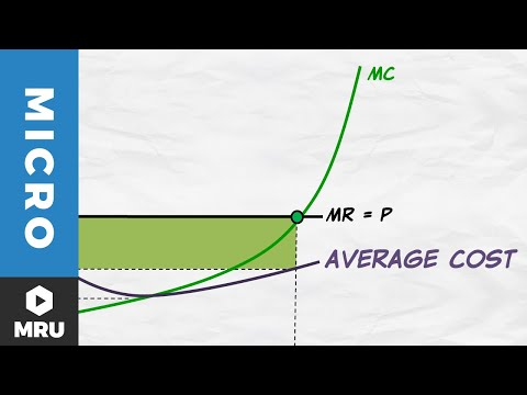 Maximizing Profit and the Average Cost Curve