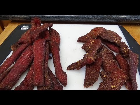 Smoked Beef Jerky, Sliced With or Against the Grain?