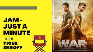 Tiger Sroff on Hrithik Roshan, Cheat Meals, Stunts | WAR | JUST A MINUTE | RJ Sangy