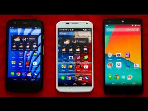 Moto G, Moto E & Moto X Official Android 4.4.4 KitKat Update