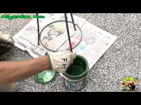Cleaning wrought iron