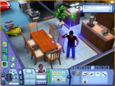 The Sims 3 The Child Teen Glich