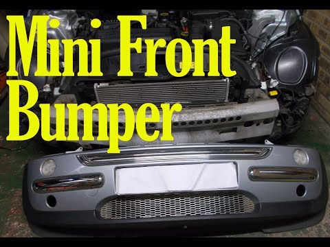 How to remove the front bumper on a Mini
