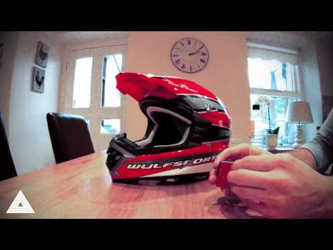 How to mount a GoPro HD camera onto your motocross helmet (tips)