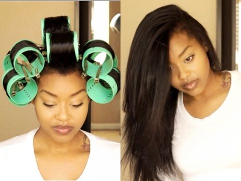 How To:: Voluminous Straight Hair