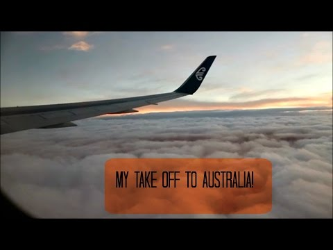 Study Abroad Vlog #1: Flight to Australia!