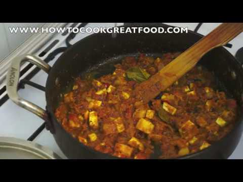 Indian Tofu Curry Recipe - Vegan Masala