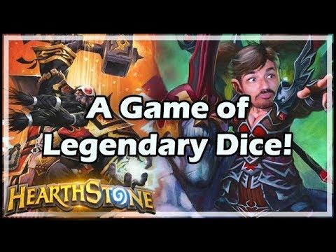 [Hearthstone] A Game of Legendary Dice! - Tavern Brawl #154