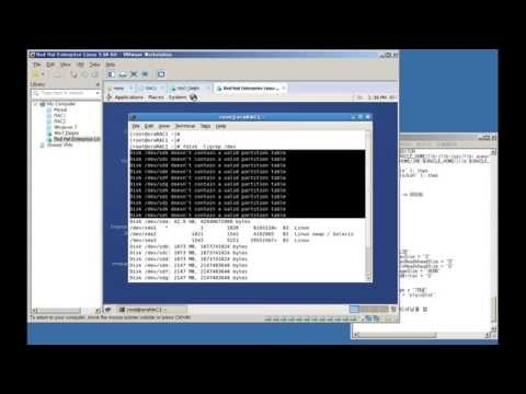 Linux Setting env for oracle 11g RAC