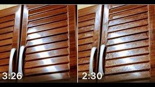 تجديد بلاكار الخشب  القديم  ورخام  المطبخ بحيلة بسيطة