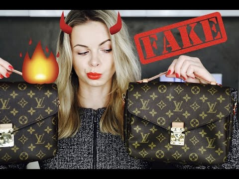 Louis Vuitton Pochette Métis: REAL vs FAKE + QUIZ!