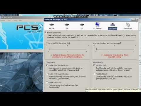 Speed up pcsx2 0.9.8  on slow pc for BT3