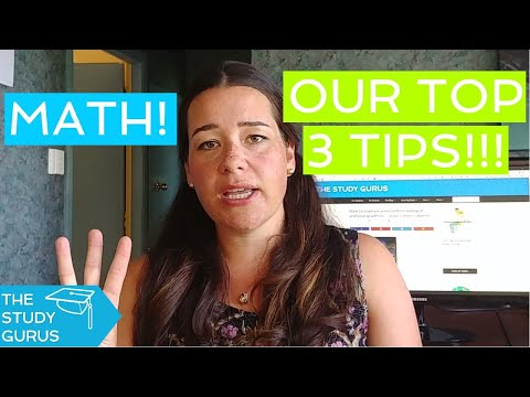 Hate math?! 3 simple tips for improving your math grades | The Study Gurus