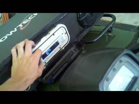 100% Waterproof ATV Stereo System