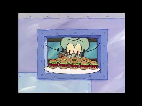 Twelve Krabby Patties on Wheat Buns (Extra Salt) - SpongeBob SquarePants (1080p HD)