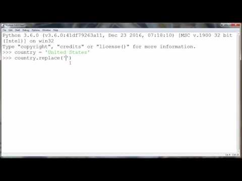How to Replace a Substring of a String in Python programming language