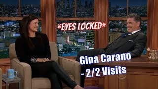 Gina Carano - She Yawns Right At Craig - 2/2 Appearances In Chron. Order [HD]