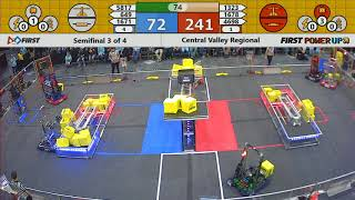 Semifinal 3 - 2018 Central Valley Regional