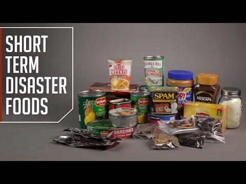 Short Term Disaster Foods