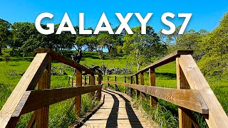 Epic Galaxy S7 Cinematic 4K Camera Test!