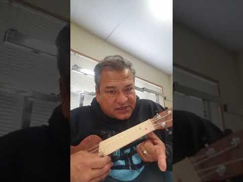 Twinkle Twinkle Little Star, ukulele, open C tuning