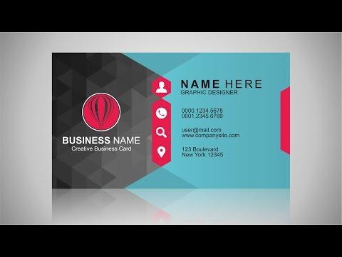 Business Card Design Inspiration | CorelDraw Tutorial
