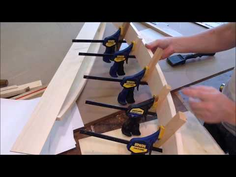 MAKING CURVED ARMS FOR A BENCH SEAT / WOODWORKING