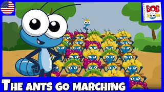BobZoom - The Ants go marching - English