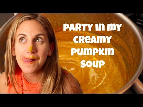 Dairy-Free Pumpkin Soup to Die For!