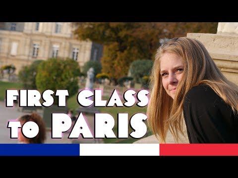 First Class Train! We Visit Paris, finally! 🇫🇷