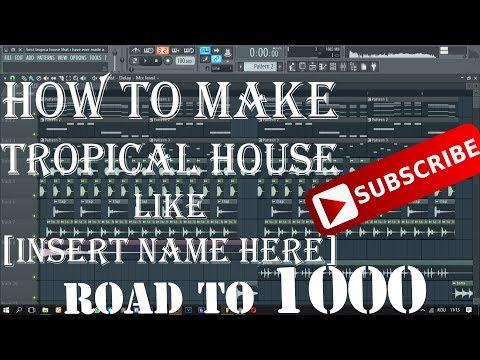 How to make TROPICAL HOUSE like Kygo | FL Studio Tutorial |