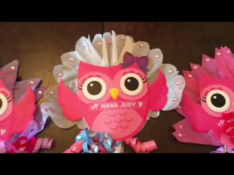 Dollar Tree & 99 Cents items for a DIY Baby Shower Centerpieces - October 7, 2016